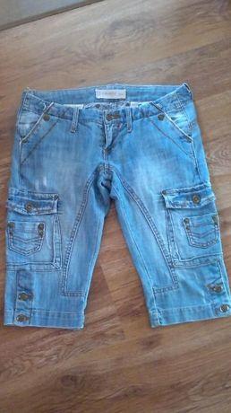 krótkie jeansy/27