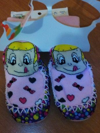 Детские махровые носки-чешки Bross