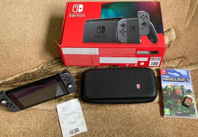 Nintendo Switch V2 plus dodatki super stan