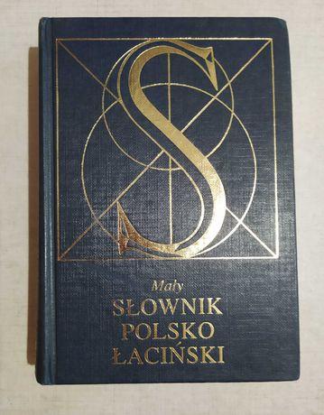 Mały słownik polsko-łaciński - wyd. PWN red. Lidia Winniczuk