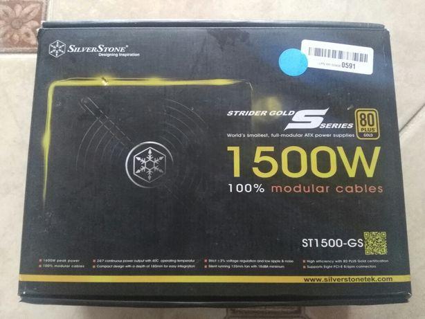 Компьютерный блок питания SilverStone Gold 1500 Ватт