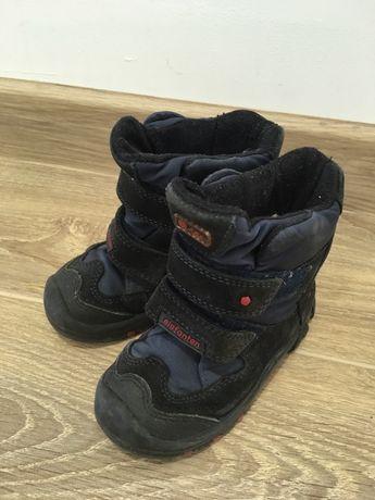 ботинки зимние на шерсти elefanten 22 размер