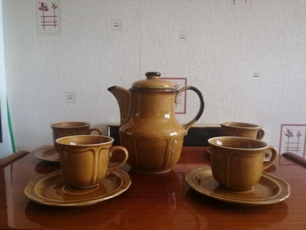 Serwis kawowy Pruszków stara porcelana prl