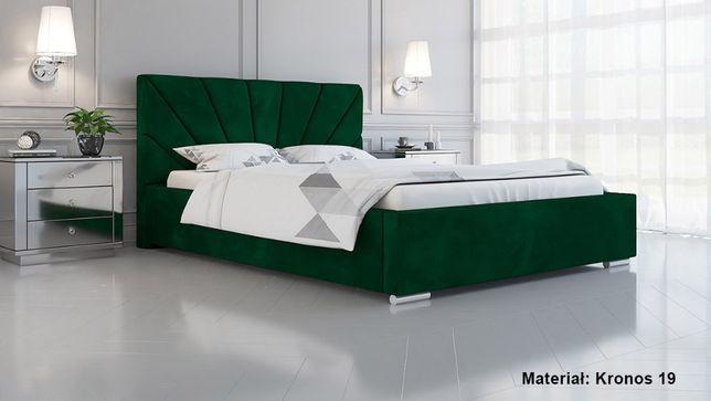 Łóżko tapicerowane LUX 9 180x200 Stelaż + pojemnik na pościel HIT!