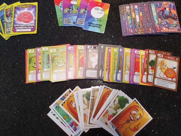Karty Świeżaki naklejki Świeżaki karty Blaze Monster Zombie Zity