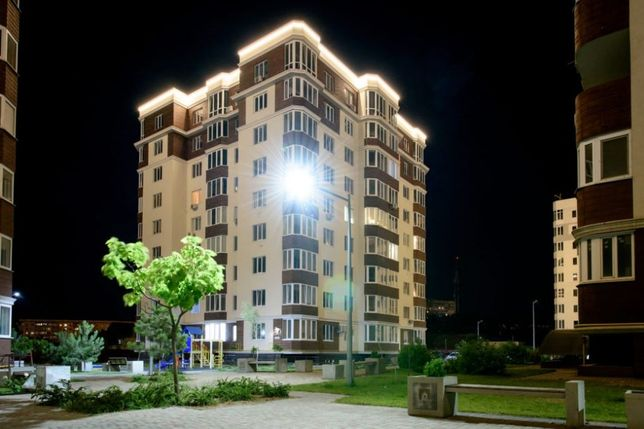 1-комнатная квартира на поселке Котовского в новострое в рассрочку!