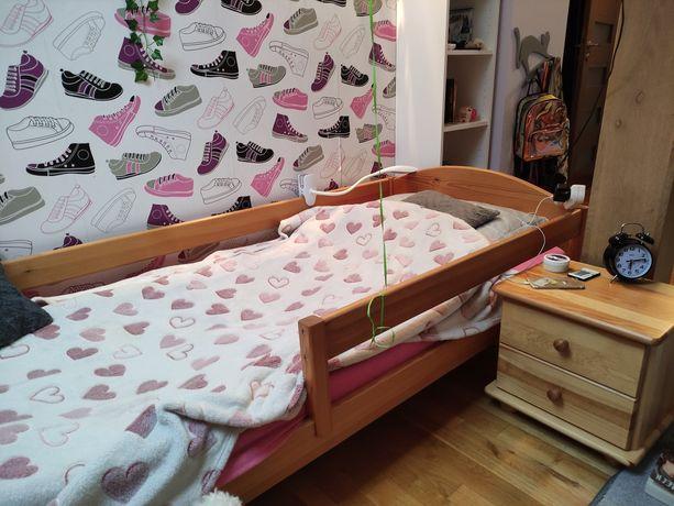 Łóżko sosnowe sprzedam
