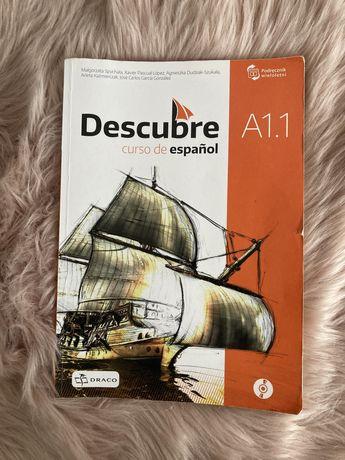 Podręcznik do hiszpańskiego Descubre curso de español A1.1 Draco