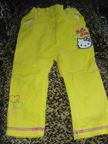 Штаны штанишки брюки брючки для девочки Hello Kitty