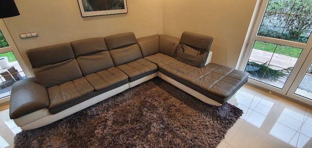 Sofa narożnikowa eko-skóra