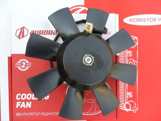 Вентилятор радиатора ВАЗ 2103 2106 2107 2109 2110 заз 1102 сенс