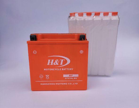 Аккумулятор H&T, GTX14L-BS; GTX14-BS; 12V14A; цена 850 грн