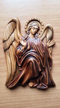 Ангел Охоронець, ікона з дерева, ікона
