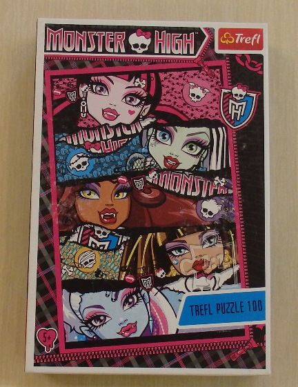 Puzzle Monster High 100 szt. Trefl