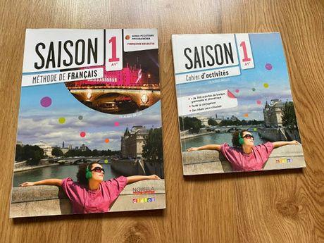 Saison 1. Podręcznik + ćwiczenie do języka francuskiego