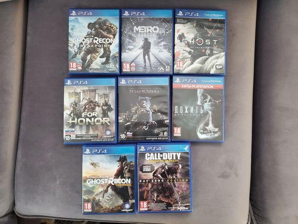 Обміняю або продам ігри для PS4