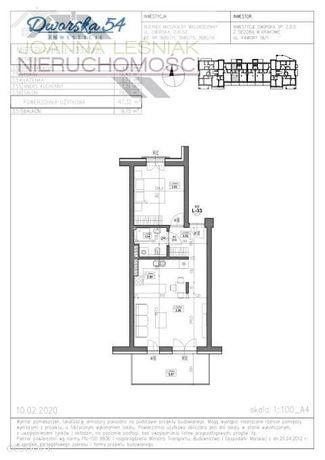 Mieszkanie, 48,46 m², Olkusz