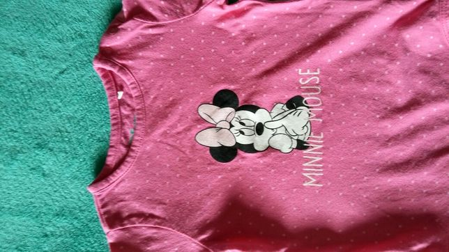 Body r.74 smyk disney minnie myszka