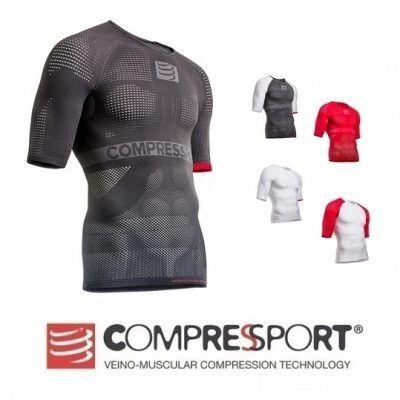 Koszulka z krótkim rękawem ON/OFF Compressport NOWA triathon S