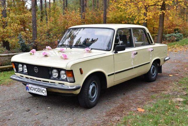 Auto, samochód do ślubu i na inne okazje Fiat 125p/Mercedes Janów Lub.
