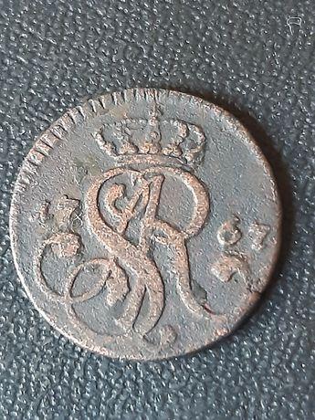 Грош 1767 года..