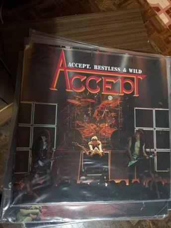 Accept - Restless and Wild (Reino Unido)  LP Vinil