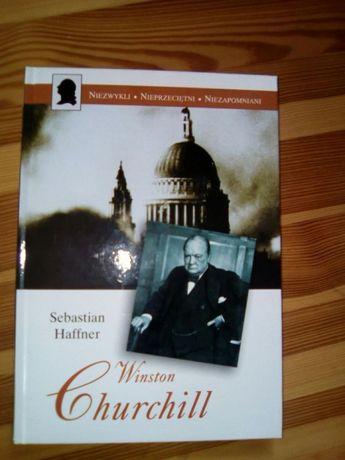 "Sebastian Haffner: ""Winston Churchill"" - Biografia ,wyd. Świat Książki"
