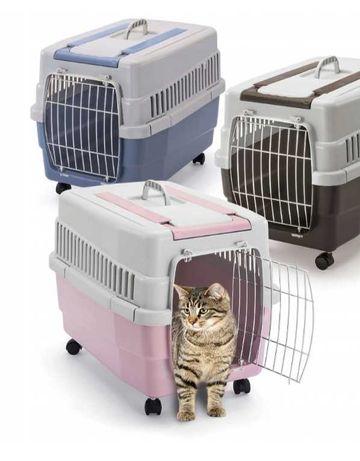IMAC transporter Kim 60 na kollach dla psa lub kota