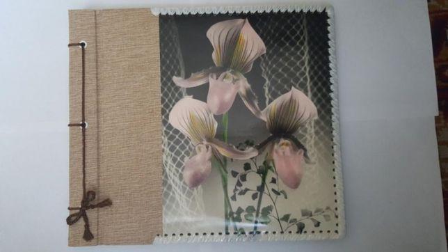 Альбом. Для фотографий - ручной работы 32х28 см. 19 листов. 76 фото.