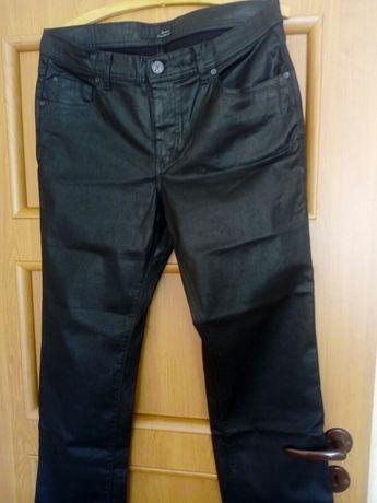 Spodnie męskie woskowane roz 34