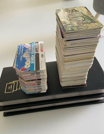Karty telefoniczne 160szt