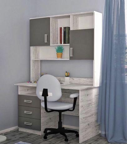Стол письменный, компьютерный, для школьника стол,тумба,пенал,икеа