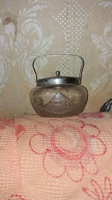 Старинная сахарница 40-50 х гг.
