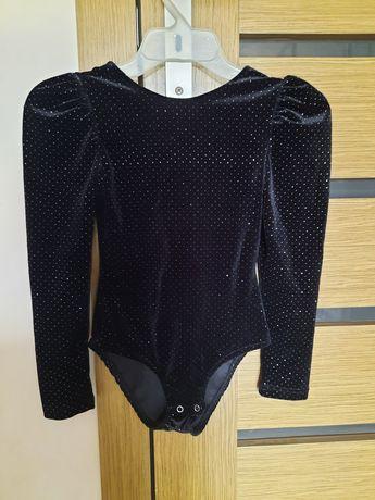 Aksamitne body Zara 134 czarne