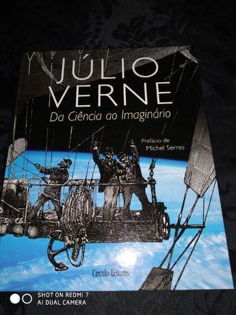 Livro JÚLIO VERNE da Ciência ao Imaginário