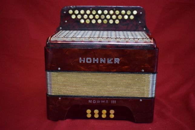 Concertina Hohner Norma III 3 Voz