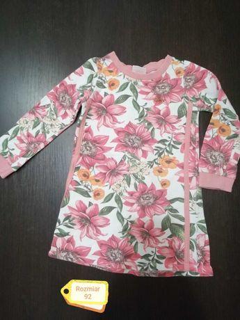 Sukienka dla dziewczynki 92