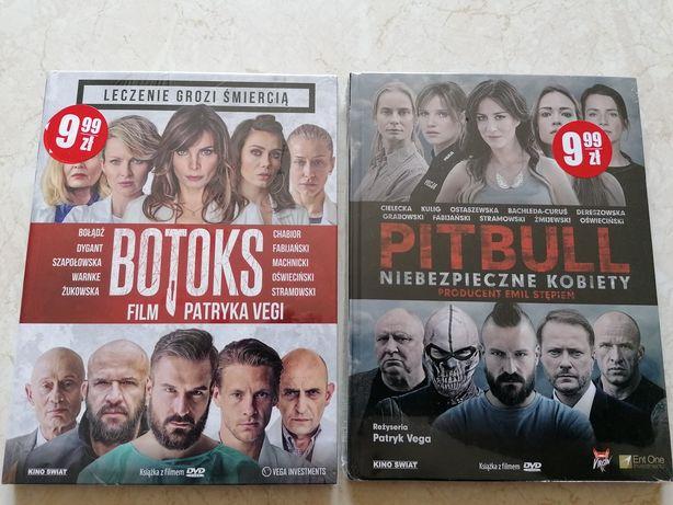 Filmy DVD w Folii! Botoks i Pitbull-Niebezpieczne kobiety, Patryk Vega
