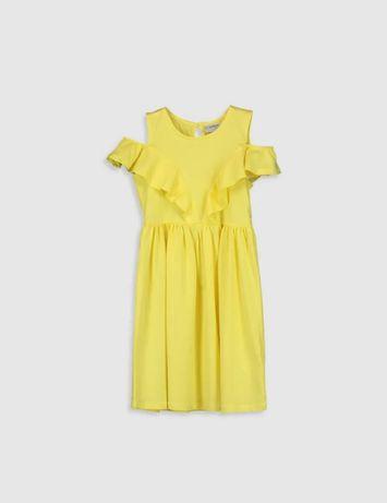 Желтое платье LC Waikiki 12-13 лет
