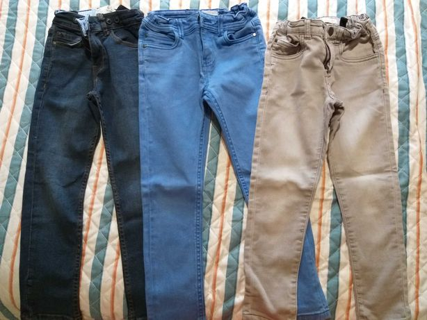 calças ganga Zippy 6-7A