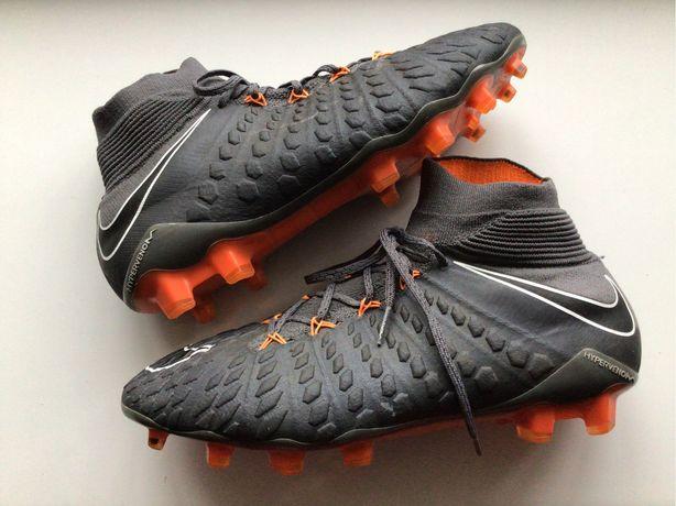 Бутсы футбольные Nike Hupervenom III Elite DF FG 41 р.