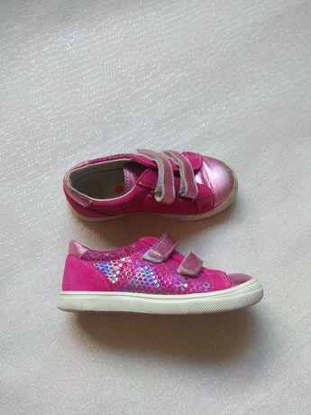 Кроссовки кожаные на девочку  Naf Naf 25,кросівки,макасины,мешты шкіра