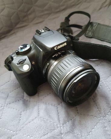 Canon 350D + 18-55 1:3.5-5.6 - lustrzanka - aparat