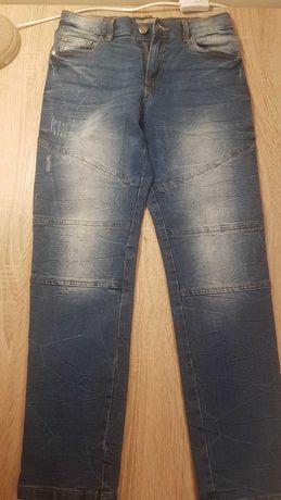 Spodnie chłopiece dżinsowe
