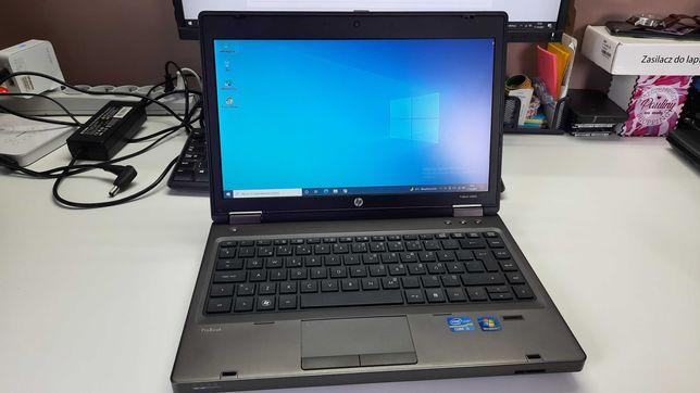 """Laptop HP6360b 13.3"""" 4gb 320gb Windows 10 kamerka mikrofon"""