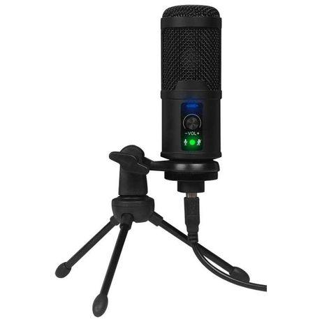 Microfone Condensador USB Streaming/Estúdio NOVOS!