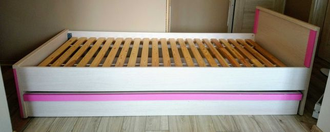 Łóżko 90X200 solidne z pojemnikiem