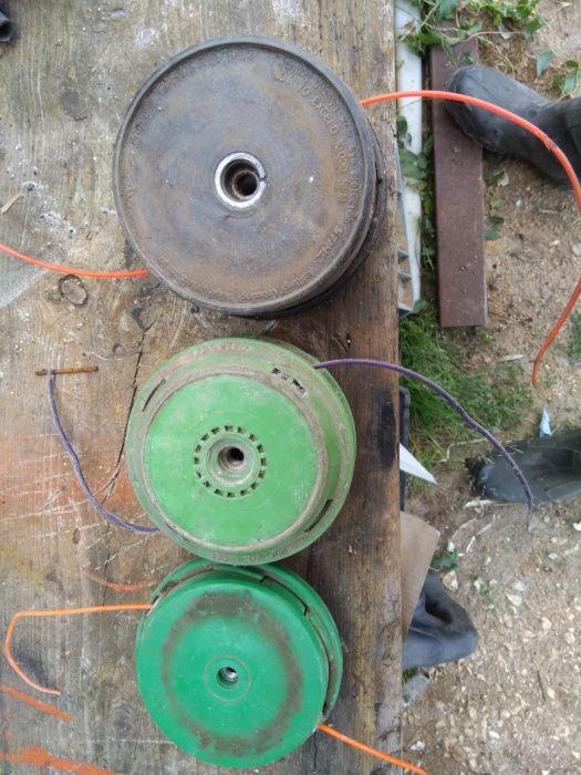 Cabecas de fio para rocadoura Alcanhões - imagem 1
