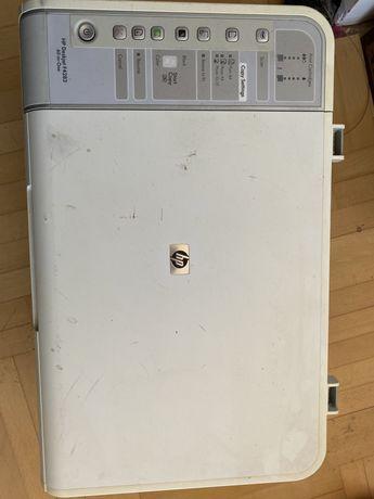 Принтер сканер HP на запчастини