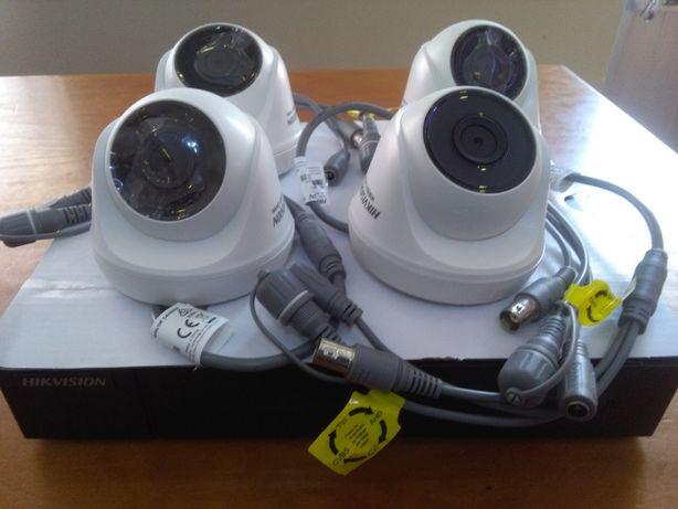 Video vigilancia -Dvr HIKVISION 4CH e 4 camaras 1080P -2Mpx